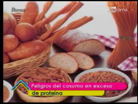 Peligros del consumo en exceso de proteína
