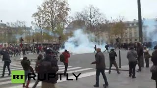 LIVE: Global march for the climate held in Paris, despite ban on gatherings