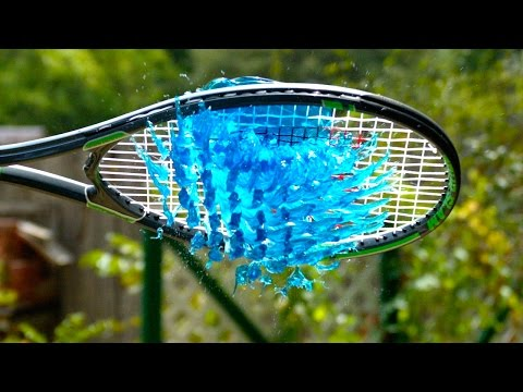 Download Youtube: Jelly Tennis - The Slow Mo Guys