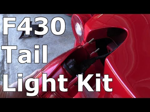 Ferrari F430 Tail Light Fix Kit