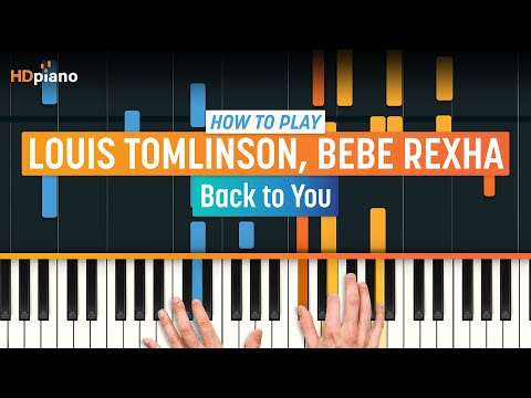 """How To Play """"Back to You"""" by Louis Tomlinson, Bebe Rexha, & Digital Farm Animals 