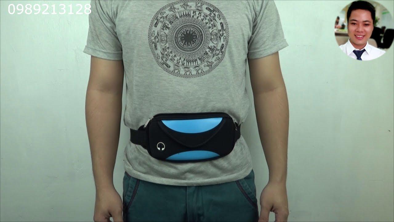 Túi đeo bụng thể thao, du lịch THÀNH NAM | Túi đeo hông thời trang | Túi bao tử