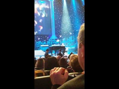 John Legend at Stevie Wonder tribute concert