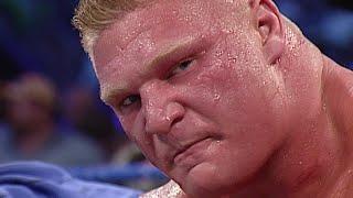 Download lagu Brock Lesnar vs Kurt Angle WWE Chionship WWE Iron Man Match SmackDown Se MP3