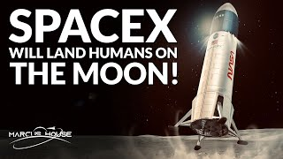 SpaceX wins a multi-billion dollar NASA moon lander contract!