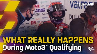 What Really Happens: During a Moto3™ Qualifying session