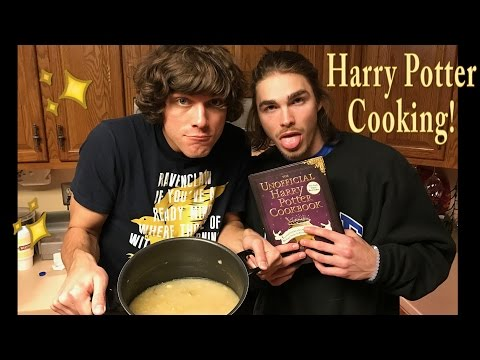 COOKING FROM THE HARRY POTTER COOKBOOK