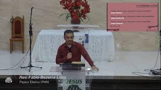 LIVE - IPMN  -  ESTUDO BIBLICO   -  TEMA: NÃO FALEM MAL UNS DOS OUTROS.  . - REV.  FÁBIO BEZERRA.