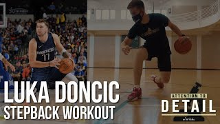 FULL Luka Doncic Stepback Workout 🔬