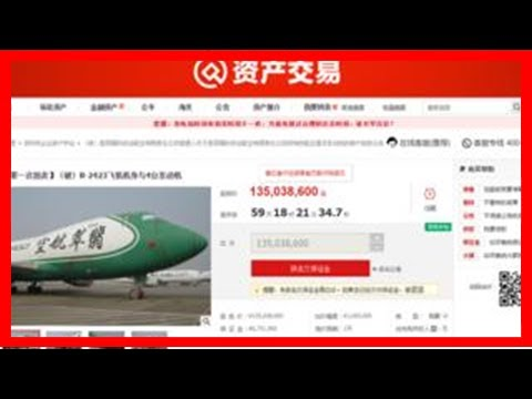 Breaking News | Boeing 747s up for auction in china