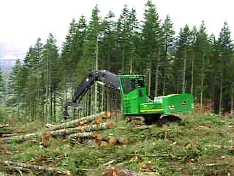 John Deere 3554 Shovel Logger - Pape Machinery Demo