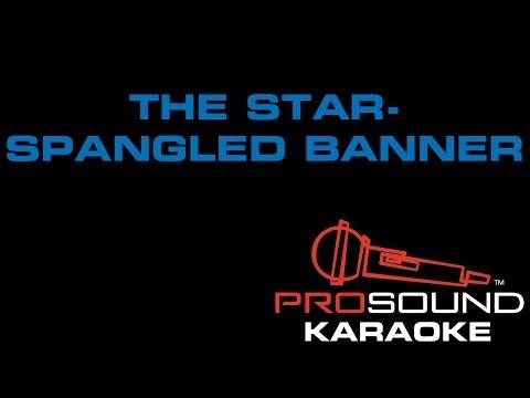 Star Spangled Banner, Karoake video with lyrics