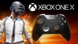 PUBG on XBOX ONE X // Battlegrounds Console Live Stream Gameplay