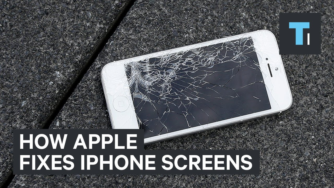 iphone crack screen image