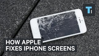 This is how Apple repairs broken iPhone screens