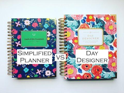 Emily Ley Simplified Planner VS Day Designer {COMPARISON}