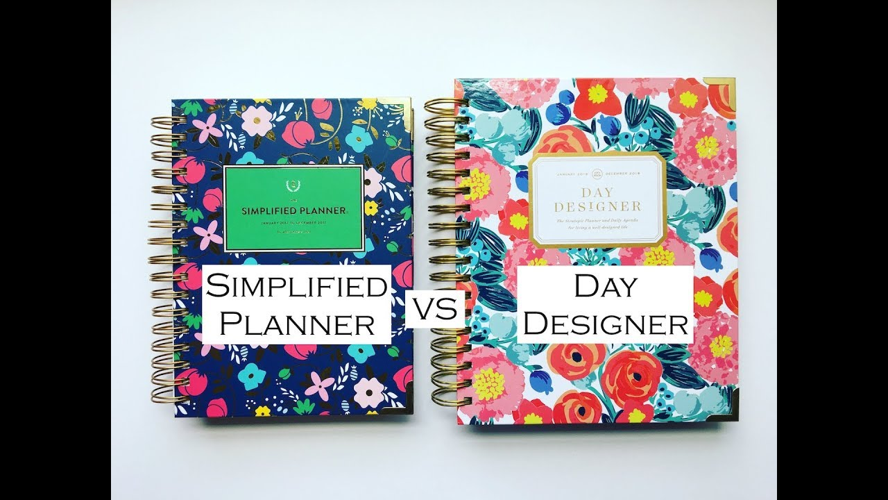 photo about Emily Ley Coupon Code referred to as Emily Ley Simplified Planner VS Working day Designer COMPARISON