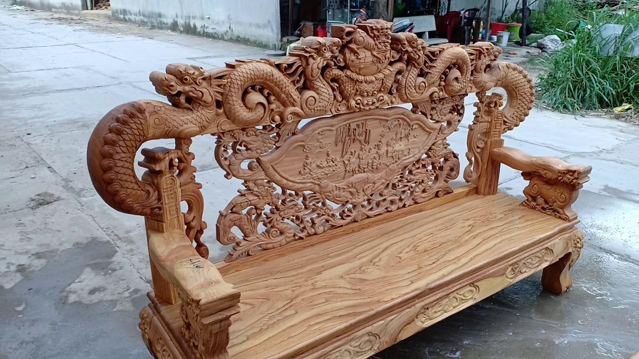 Báo Giá 2 bộ salon gỗ gõ Vân Gỗ Cực Đẹp của Mộc Nam Huy | Bao quát những tài liệu liên quan gia salon go đúng nhất