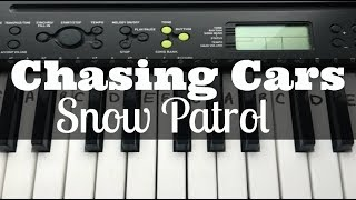 Chasing Cars - Snow Patrol | Easy Keyboard Tutorial With Notes