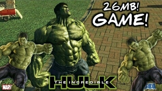 [26MB] Download Incredible Hulk Game Free For All Android No Invalid License