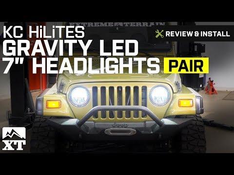 Jeep Wrangler KC HiLiTES Gravity LED 7
