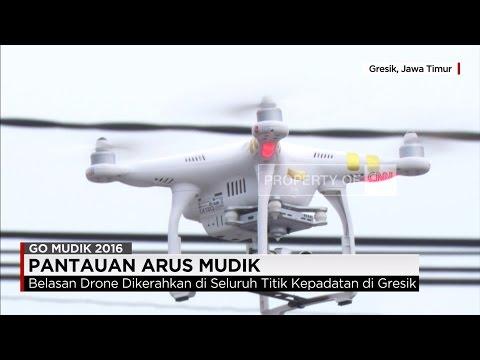 """""""Pasukan Drone"""" Dikerahkan untuk Pantau Mudik"""