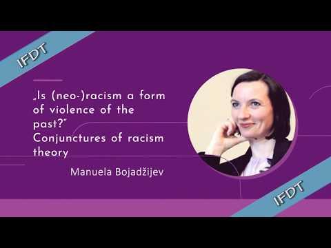 "MANUELA BOJADŽIJEV: ""Is (neo-)racism a form of violence of the past?"""