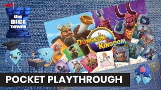 Dungeon and Kingdom Board Game  - Pocket Playthrough with Stella & Tarrant