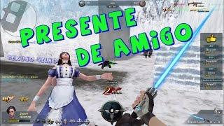 PRESENTE DE AMIGO *-*  - TEXUGO VELHO BLOOD STRIKE