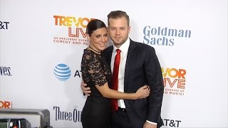 "Jamie-Lynn Sigler and Cutter Dykstra ""TrevorLIVE Los Angeles 2016"" Red Carpet"