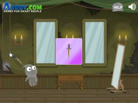 Help Georg escape from the clutches of the Grim Reaper! #GhostGames #HalloweenGames