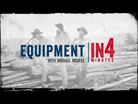 Civil War Equipment: The Civil War In Four Minutes