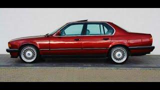 BMW 7ser E32 ДЕЛАЕМ КОПИЮ ИЗ ЖУРНАЛА 90х ГОДОВ !