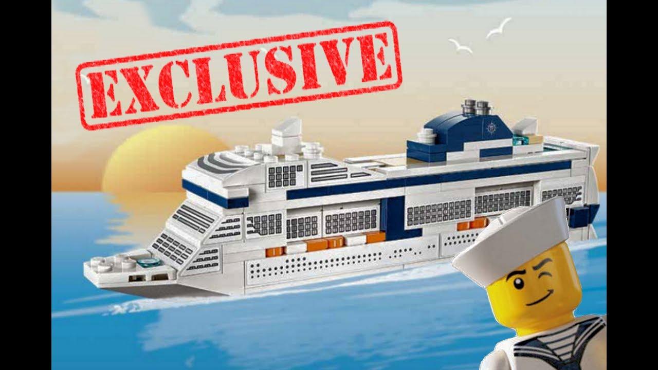 Lego Kreuzfahrtschiff