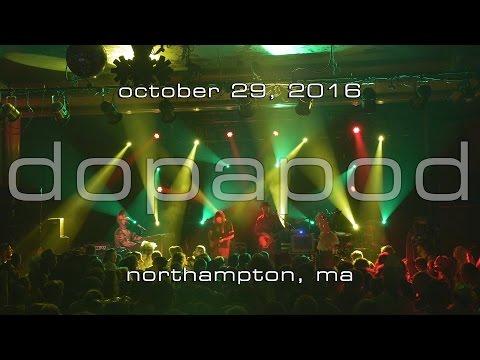 Dopapod: 2016-10-29 - Pearl Street; Northampton, MA [4K]