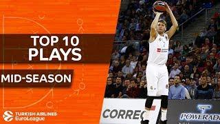Turkish Airlines EuroLeague, Top 10 Plays, mid-season