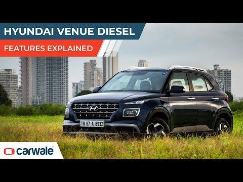 Hyundai Venue Diesel | Features Explained | CarWale