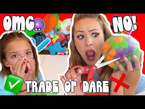 Download TRADE OR DARE ~ EXTREME FIDGET TRADING CHALLENGE ❌✅🤯