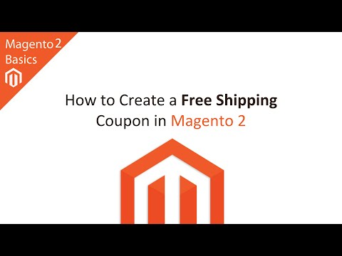 How To Create A Free Shipping Coupon Code In Magento 2