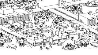 Hidden Folks Guide 13 - The Factory Riddle - Full Walkthrough