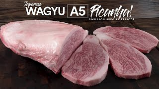 2 Million Special: Wagyu A5 Picanha BEST Steak on Earth!