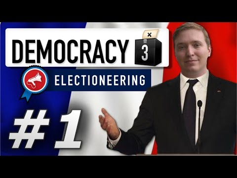 Democracy 3: Electioneering | France  - Year 1