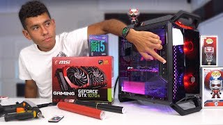 $1100 Gaming PC Build - i5 8400 GTX 1070 Ti (w/ Benchmarks)