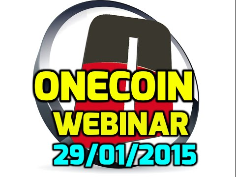 Onecoin || Onecoin 2015: Webinar 29/01/2015 Mining Explained