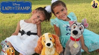 Lady and The Tramp from Disney with Sam and Abby