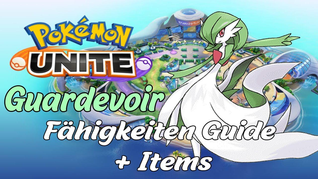 Guardevoir Fähigkeiten Guide + Items | Der Flächen Bomber in Pokemon Unite