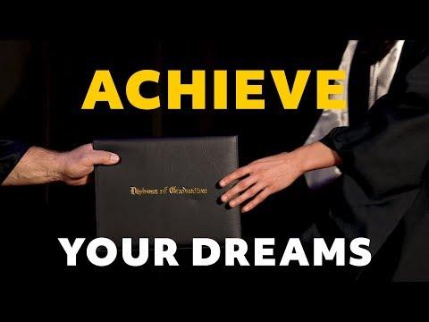 Achieve Your Dreams - (Graduation Ad by Mometrix)