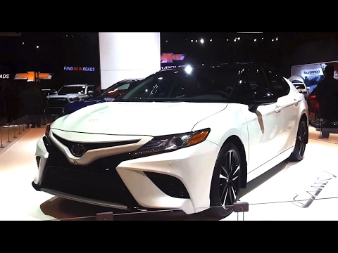 2018 Toyota Camry Review Walkthrough, Features Specifications