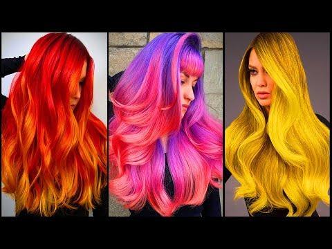 Top Long Hair Color Transformation Tutorials Compilations! Salon Long hair Transformation