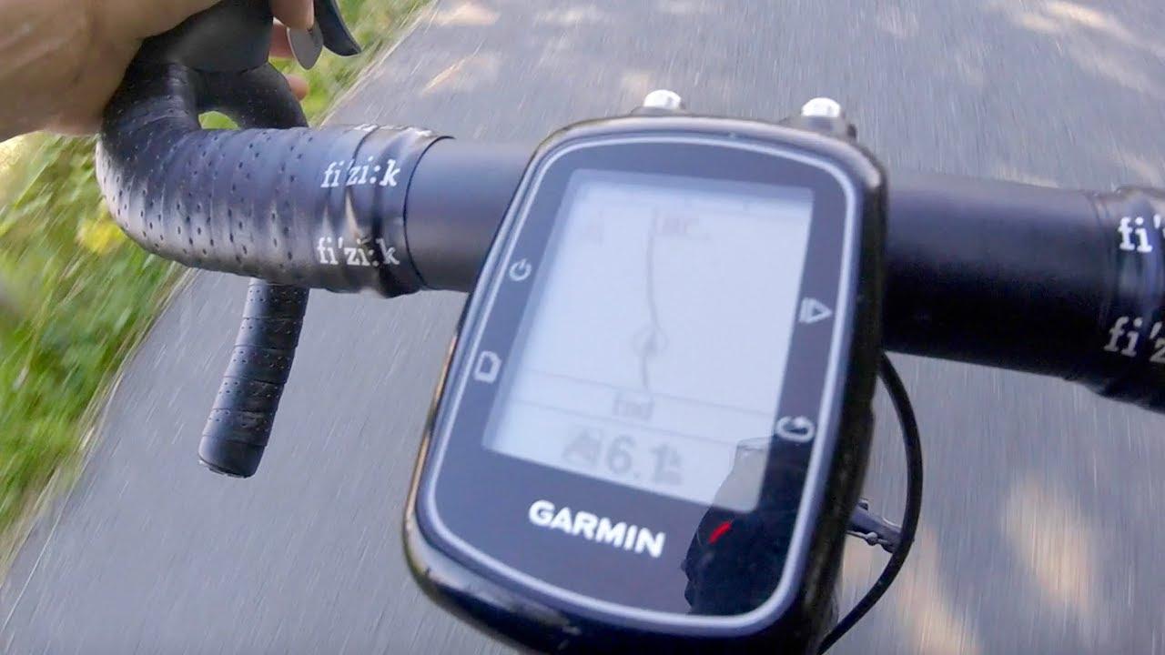 Garmin Edge 200 Course Navigation
